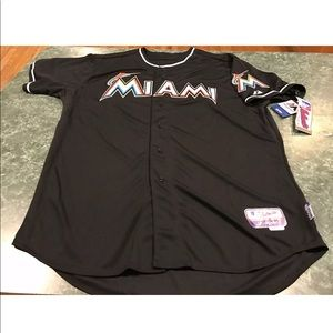 Majestic MIAMI MARLINS Blank Cool Base Jersey XXL